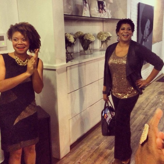 Kim Coles at Natural Resources Salon